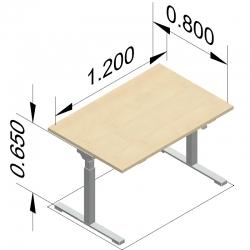 bureau assis debout solution pour tous. Black Bedroom Furniture Sets. Home Design Ideas