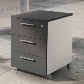 Caisson mobile 3 tiroirs Luxe