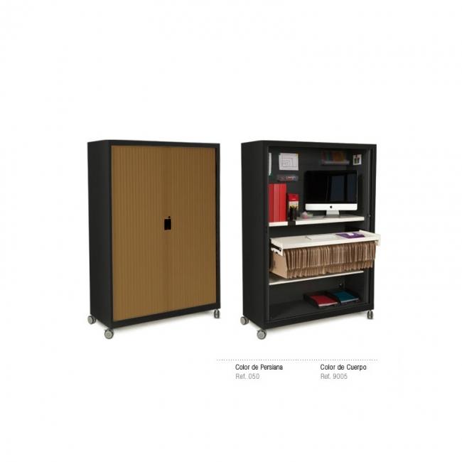 armoire rideaux vertivcaux roller. Black Bedroom Furniture Sets. Home Design Ideas