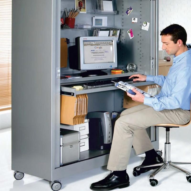 """Armoire à Rideaux Verticaux Roller """"Computer"""""""