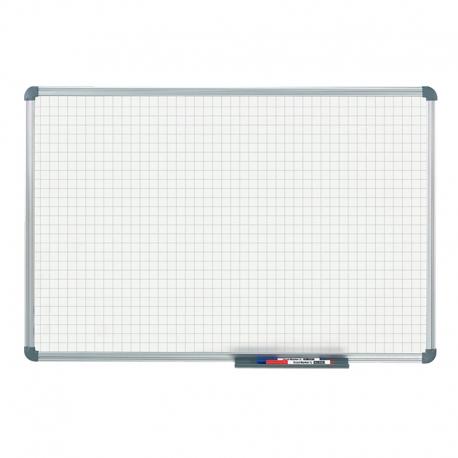 Tableau blanc office quadrillage 20 x 20 mm (60 x 90 cm)