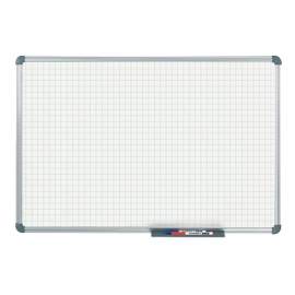 Tableau blanc office quadrillage 20 x 20 mm