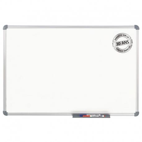 Tableau blanc office émaillé, 60 x 90 cm