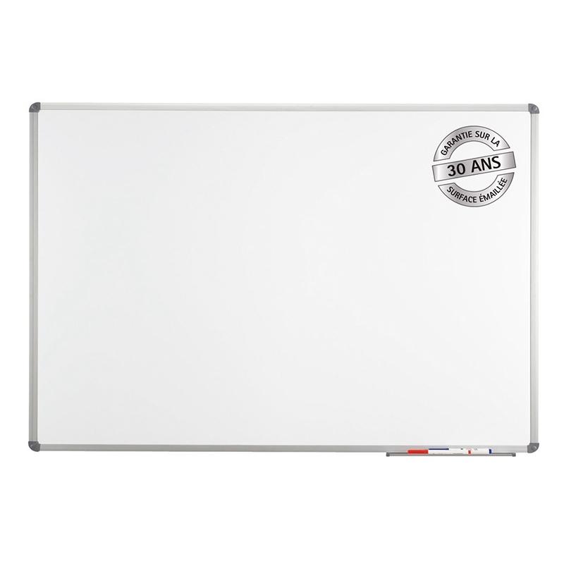 Tableau blanc standard émaillé