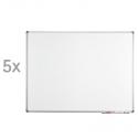 Tableau blanc standard, conditionnement livre-service