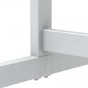 Tableau blanc mobile standard, réversible