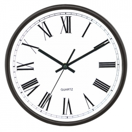 Horloge de bureau murale Romaine