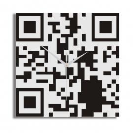 Horloge de bureau murale QR Code