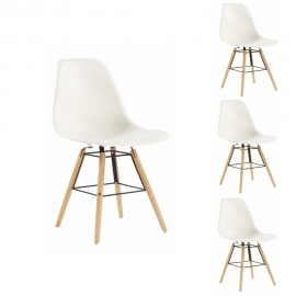 Chaise Scandinave Four