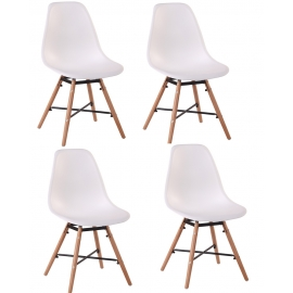 Chaise Scandinave 4X