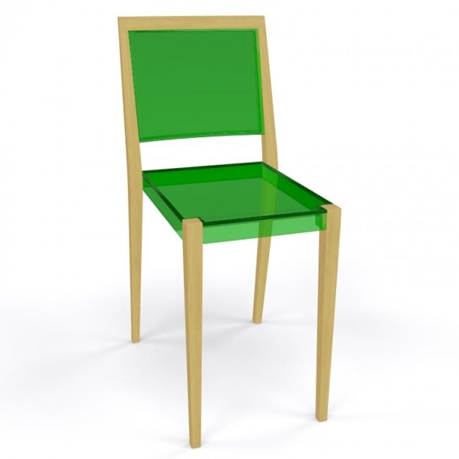 chaise together transparente. Black Bedroom Furniture Sets. Home Design Ideas