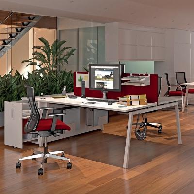 Bureau bench ASKnetic piet.A métal