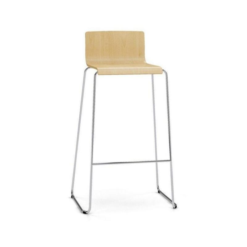 Chaise haute Luno Wood
