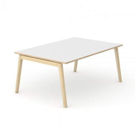 Table Azna Wood 6 personnes
