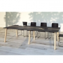 Table Azna Wood 10 personnes