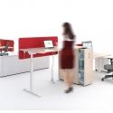 Bureau assis/debout NEO Droit