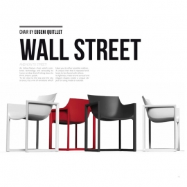 Wall street Chaises (x4)