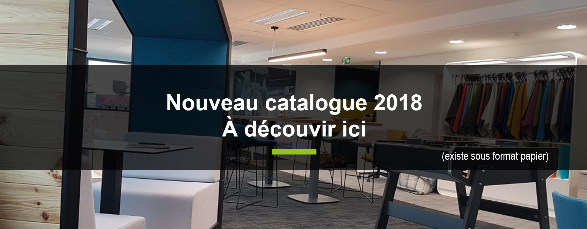 Catalogue Mobilier de bureau 2018
